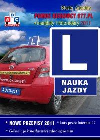 Nauka Jazdy 2011. Nowe przepisy. - Błażej Zasadny