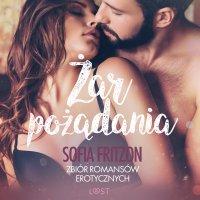 Żar pożądania. Zbiór romansów erotycznych - Sofia Fritzson