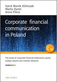 Corporate financial communication in Poland - Karol M. Klimczak