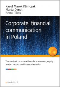 Corporate financial communication in Poland - Karol M. Klimczak