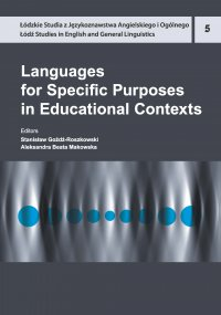 Languages for Specific Purposes in Educational Contexts - Stanisław Goźdź-Roszkowski
