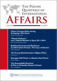 The Polish Quarterly of International Affairs, no 3/2017 - Opracowanie zbiorowe