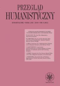 Przegląd Humanistyczny 2018/4 (463) - Alina Molisak