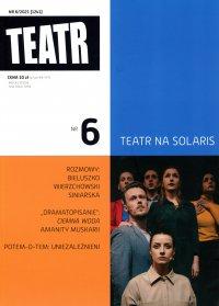 Teatr 6/2021 - Opracowanie zbiorowe