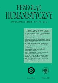 Przegląd Humanistyczny 2019/1 (464) - Alina Molisak