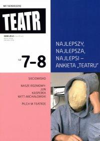 Teatr 7-8/2020 - Opracowanie zbiorowe