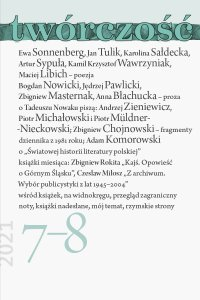 Twórczość 7-8/21 - Opracowanie zbiorowe