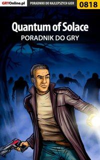 Quantum of Solace - poradnik do gry - Łukasz