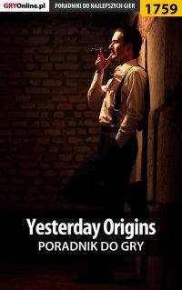Yesterday Origins - poradnik do gry -