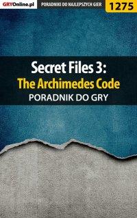 Secret Files 3: The Archimedes Code - poradnik do gry -