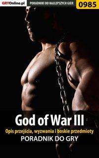 God of War III - opis przejścia, wyzwania, boskie przedmioty - Łukasz