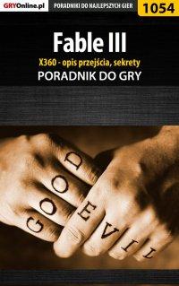 Fable III - X360 - poradnik, opis przejścia, sekrety - Michał