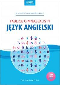 Język angielski. Tablice gimnazjalisty - Opracowanie zbiorowe