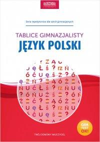 Język polski. Tablice gimnazjalisty - Opracowanie zbiorowe