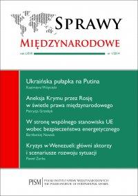 Sprawy Międzynarodowe 1/2014 - Patrycja Grzebyk