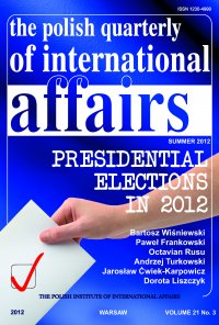 The Polish Quarterly of International Affairs 3/2012 - Marcin Zaborowski