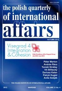 The Polish Quarterly of International Affaiers 4/2012 - Marcin Zaborowski