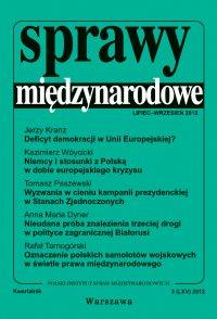 Sprawy międzynarodowe 3/2012 - Henryk Szlajfer