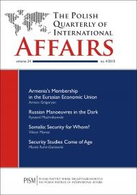 The Polish Quarterly of International Affairs, no 4/2015 - Damian Wnukowski