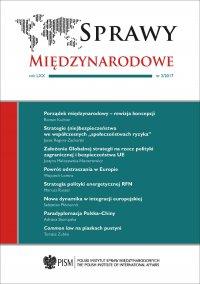 Sprawy Międzynarodowe, nr 2/2017 - Agnieszka Legucka