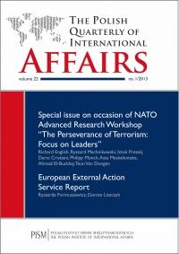 The Polish Quarterly of International Affairs 1/2013 - Marcin Zaborowski