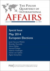 The Polish Quarterly of International Affairs 1/2014 - Agata Gostyńska