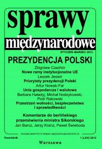 Sprawy międzynarodowe 1/2012 - Henryk Szlajfer