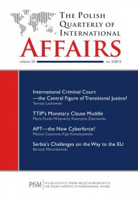 The Polish Quarterly of International Affairs 3/2015 - Matteo Casenove