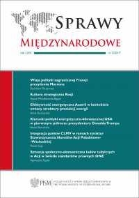Sprawy Międzynarodowe, nr 3, 2017 - Agnieszka Legucka