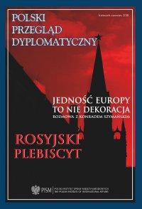 Polski Przegląd Dyplomatyczny, nr 2/2018 - Opracowanie zbiorowe