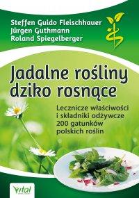 Jadalne rośliny dziko rosnące. Lecznicze właściwości i składniki odżywcze 200 gatunków polskich roślin - Steffen Guido Fleischhauer