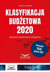 Klasyfikacja budżetowa 2020 - Krystyna Gąsiorek
