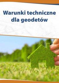 Warunki techniczne dla geodetów - Katarzyna Czajkowska-Matosiuk
