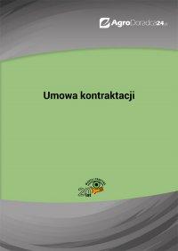 Umowa kontraktacji - Anna Kolasa