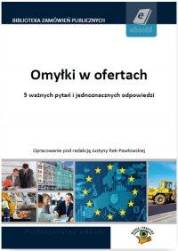 Omyłki w ofertach - Dominika Perkowska