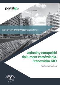 Jednolity europejski dokument zamówienia. Stanowisko KIO - Agata Hryc-Ląd