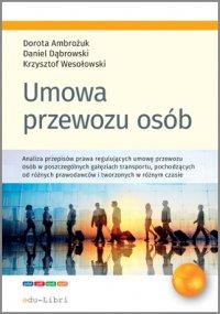 Umowa przewozu osób - Dorota Ambrożuk