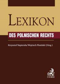Lexikon des Polnischen Rechts - Krzysztof Napierała