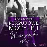 Purpurowe motyle 1 - Pola Neska