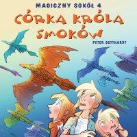 Magiczny sokół 4 - Córka króla smoków - Peter Gotthardt