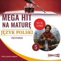 Mega hit na maturę. Język polski 5. Pozytywizm - Opracowanie zbiorowe