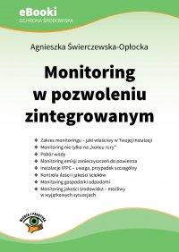 Monitoring w pozwoleniu zintegrowanym - Agnieszka Świerczewska-Opłocka