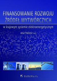 Finansowanie rozwoju źródeł wytwórczych w krajowym systemie elektroenergetycznym - Artur Paździor