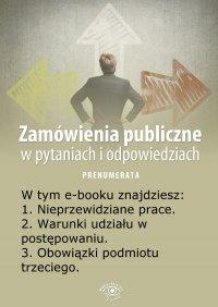 Zamówienia publiczne w pytaniach i odpowiedziach. Wydanie specjalne lipiec 2014 r. - Justyna Rek-Pawłowska