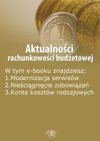 Aktualności rachunkowości budżetowej, wydanie wrzesień 2014 r. - Opracowanie zbiorowe