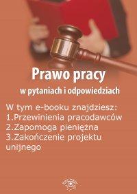 Prawo pracy w pytaniach i odpowiedziach, wydanie sierpień-wrzesień 2015 r. - Opracowanie zbiorowe