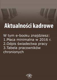Aktualności kadrowe, wydanie październik 2015 r. - Szymon Sokolik