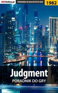 Judgment - poradnik do gry - Grzegorz