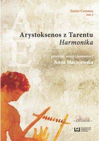 """Arystoksenos z Tarentu. """"Harmonika"""" - Anna Maciejewska"""