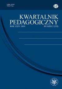 Kwartalnik Pedagogiczny 2019/2 (252) - Adam Fijałkowski